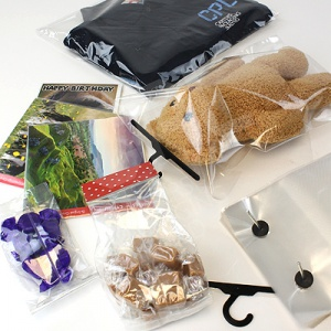 Polypropylene Bags for Packaging Food, Clothes and Other Items.