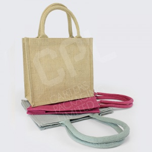 Square Shopper Jute Bags