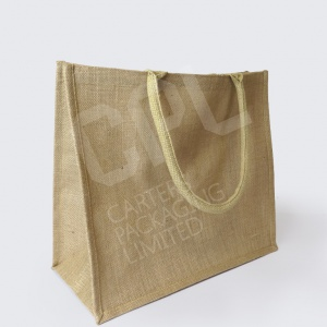 Rectangular Jute Shopper Bags