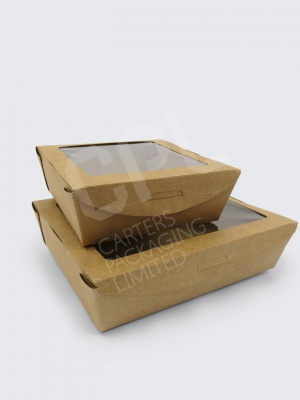 Compostable Window Boxes - VegWare