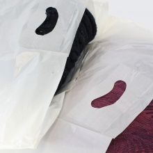 White Patch Handle Carrier bags