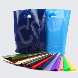 Coloured Variable Gauge Plastic Bags