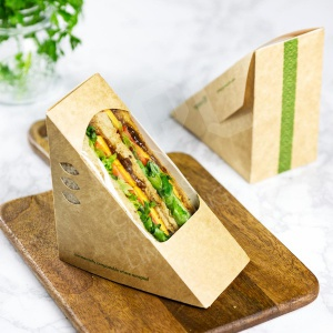 Vegware 100% Eco Sandwich Wedges