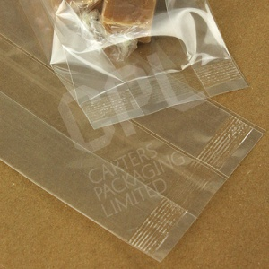 Polypropylene Gusseted Display Bags