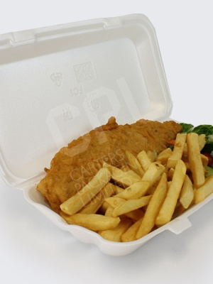 Fish and Chip Takeaway Containers
