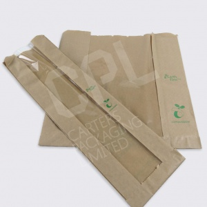 Biodegradable Film Front Bags