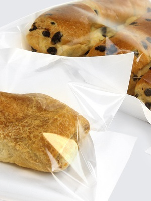 Pearlised Film Front Bags - Food Safe
