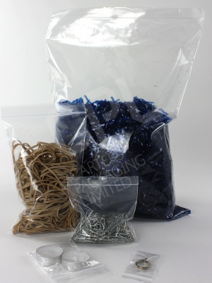 Plain Grip-Seal Bags