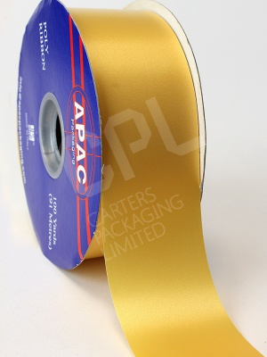 "Polyprop Gold Ribbon 2"" x 100yds"