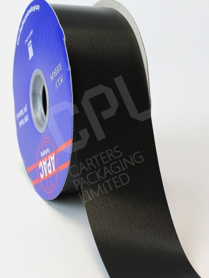"Polyprop Black Brick Ribbon 2"" x 100yds"