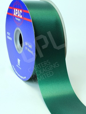 "Polyprop Hunter Green Ribbon 2"" x 100yds"