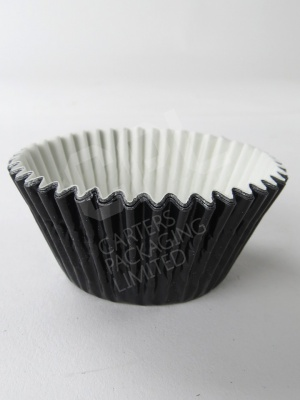 Cupcake Case, Black Foil, 51 x 38mm
