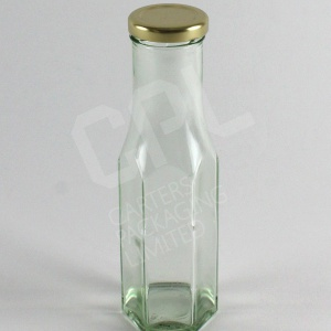 250ml Hexagonal Sauce Bottle
